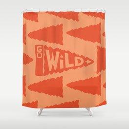 GO W/LD Shower Curtain