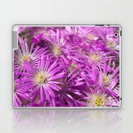 Pink Flower Field Laptop & iPad Skin