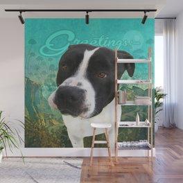 BOB (shelter pup) Wall Mural