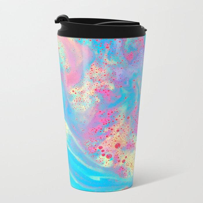 Bubblegum Bubbles Metal Travel Mug