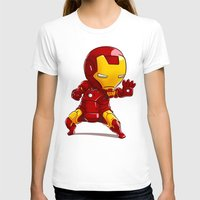ironman T-shirts featuring IRONMAN by MauroPeroni