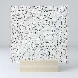 Scribbled Pattern 5 Mini Art Print