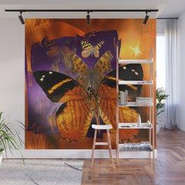Honey Butterfly Wall Mural