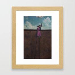 elevated Framed Art Print