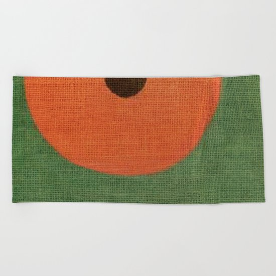 Simple Circle Beach Towel