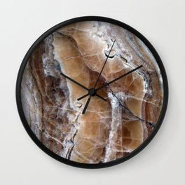 Marble Paint Formation Wall Clock