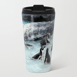 Penguins. Travel Mug