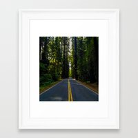 forrest Framed Art Prints featuring Forrest by John Monastero