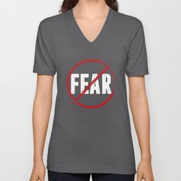 No Fear Unisex V-Neck