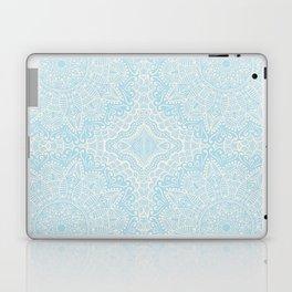Mandalas Light Blue Laptop & iPad Skin