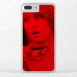 Hayley Williams - Celebrity (Florescent Color Technique) Clear iPhone Case