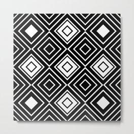 Geo Square 10 Metal Print