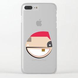 COOL BOYZZZZZ Clear iPhone Case