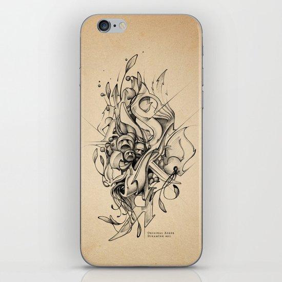 DinamInk #01 iPhone & iPod Skin