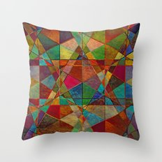 The Beauty of Geometry 5 Throw Pillow