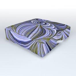 Electric Field Art XX Outdoor Floor Cushion