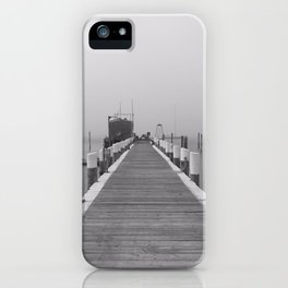 Pier on Block Island iPhone Case