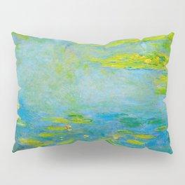 Claude Monet Impressionist Landscape Oil Painting Water Lilies Pillow Sham
