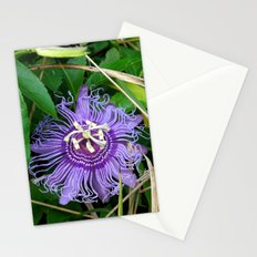 Passion vine flower Stationery Cards