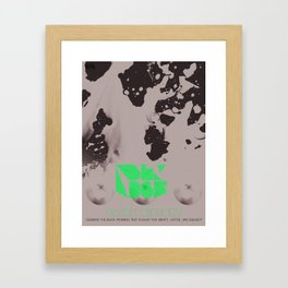 BLK365 Series - Radio Framed Art Print