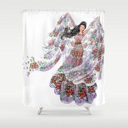 Summer Wind Shower Curtain