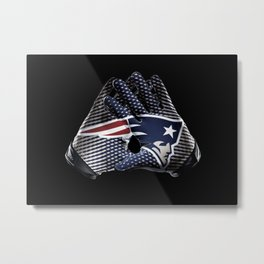 New England Gloves Metal Print