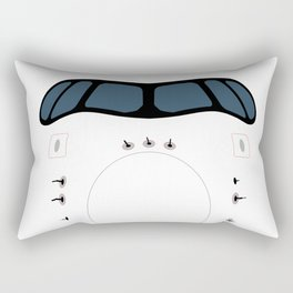 Airplane Nose Rectangular Pillow