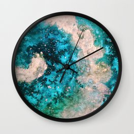 Touch of Gold_Jade Wall Clock