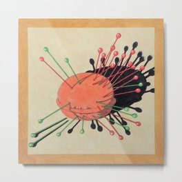 pincushion n. 3 Metal Print