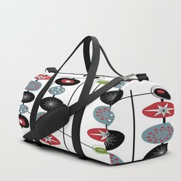 Mid-Century Modern Art Atomic Cocktail 2.0 Duffle Bag