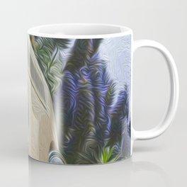 BusLife in Yellow Brushstrokes Coffee Mug