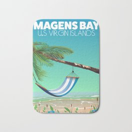 Magens Bay USA Virgin Islands Bath Mat