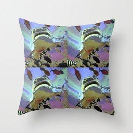 Wondrous Seas Throw Pillow