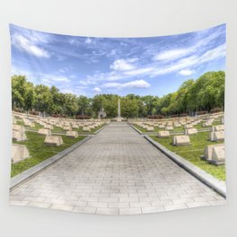 Russian War Graves Budapest Wall Tapestry