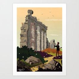 parco degli acquedotti Art Print
