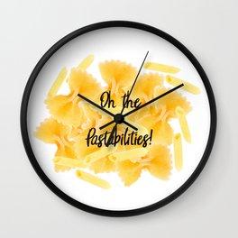 Pastabilities Wall Clock
