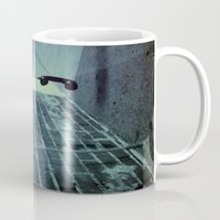 hook Mugs featuring Off The Hook by Nick Coleman