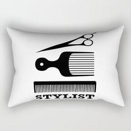 Hair Stylist Rectangular Pillow