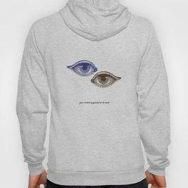 Eyes Both Brown and Blue Hoody