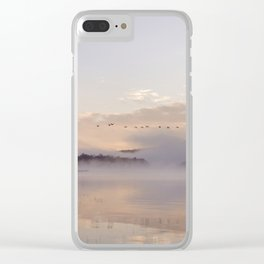 Into the Mists of Dawn Clear iPhone Case