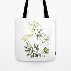 watercolor dill Tote Bag