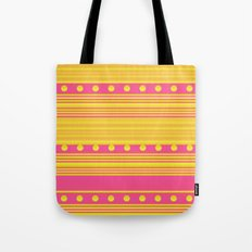 Pink and Gold Tote Bag