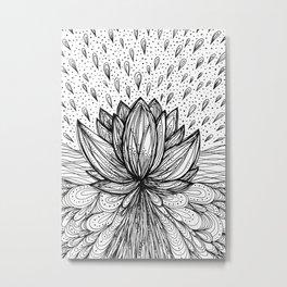The Immortal Lotus Metal Print