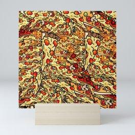 Pizza Mountain Mini Art Print
