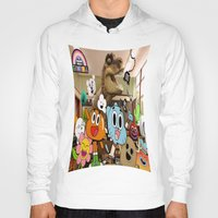 gumball Hoodies featuring GUMBALL by rosita