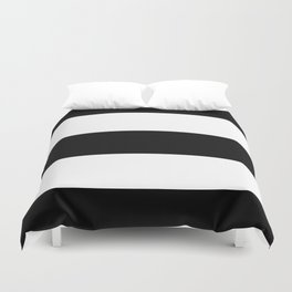 Classic Bold Stripes Pattern Duvet Cover