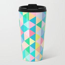 Retro Pastels Travel Mug