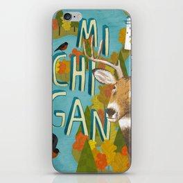 Michigan iPhone Skin