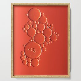 Coral baubles Serving Tray