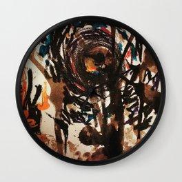 Ashes Wall Clock